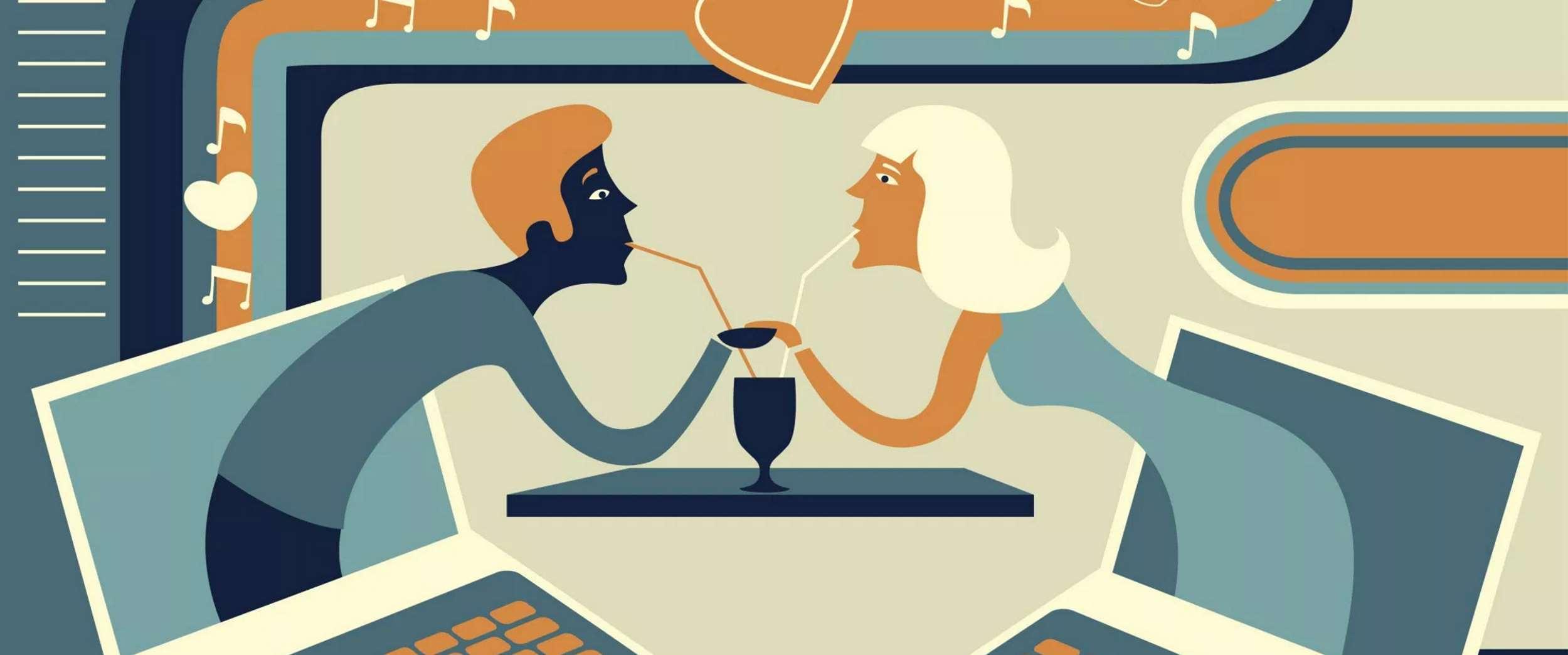 Come scrivere un messaggio sulla dating online